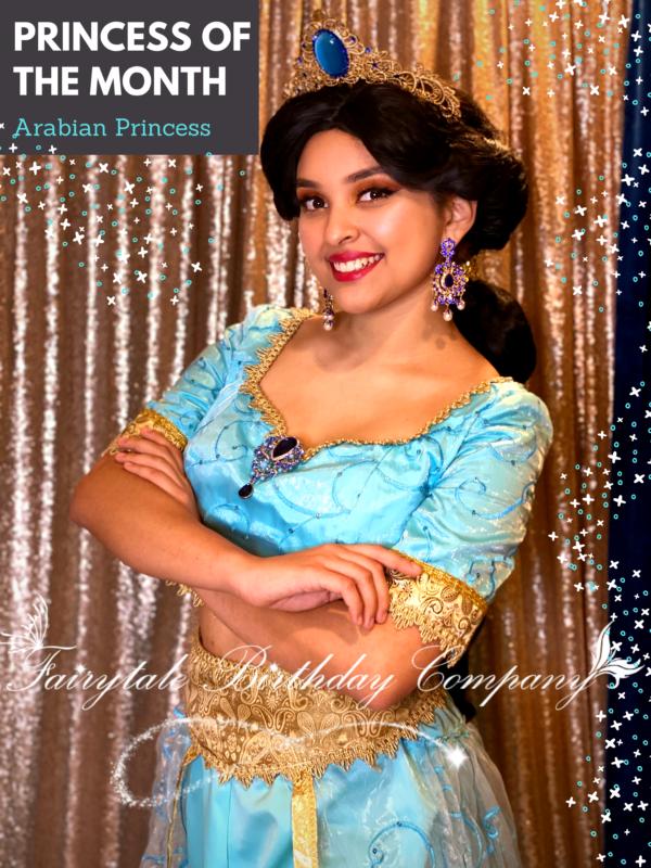 Princess Jasmine , Princess Party, Wiscosnin